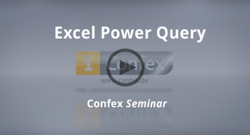 CONFEX Seminar: Excel Power Query